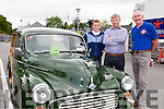 Eamon and Denis Mulvihill Moyvane with Michael O'Connor Kilcummin at the Killarney Valley Classic and Vintage show on Sunday