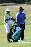 Kiradech Aphibarnrat (THA) during the third round of the Northern Trust played at Liberty National Golf Club, Jersey City, New Jersey, USA. 10/08/2019<br /> Picture: Golffile | Phil Inglis<br /> <br /> All photo usage must carry mandatory copyright credit (© Golffile | Phil Inglis)