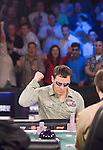 Final Hand: Carlos Mortensen reacts to winning the WPT championship and gets hugs from Morrison, Johnson and Gavin Smith.