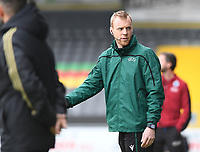 20191211 – OOSTENDE , BELGIUM : Belgian referee Kevin Debeuckelaere pictured during a soccer game between Club Brugge KV and Real Madrid on the sixth and last matchday in group A of the UEFA Youth League - Champions League season 2019-2020 , thuesday 11 th December 2019 at the Versluys Arena in Oostende , Belgium . PHOTO SPORTPIX.BE | DAVID CATRY