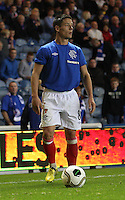 Ian Black in the Rangers v Queen of the South Quarter Final match in the Ramsdens Cup played at Ibrox Stadium, Glasgow on 18.9.12.