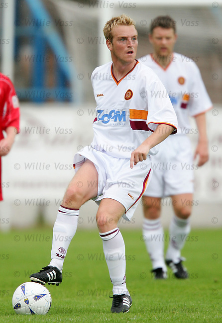 Brian Kerr, Motherwell.stock season 2004-2005.pic willie vass