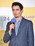 """Director Damien Chazelle attends the Japan premiere for the film """"La La Land"""" at Roppongi Hills on January 26, 2017 in Tokyo, Japan. (Photo by AFLO)"""
