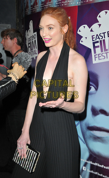 Eleanor Tomlinson at the &quot;Alleycats&quot; East End Film Festival opening gala &amp; world film premiere, Genesis Cinema, Mile End Road, London, England, UK, on Thursday 23 June 2016.<br /> CAP/CAN<br /> &copy;CAN/Capital Pictures