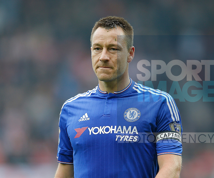John Terry of Chelsea during the Barclays Premier League match at the Stadium of Light, Sunderland. Photo credit should read: Simon Bellis/Sportimage