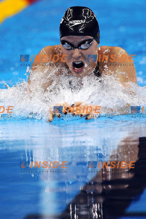Sarah POEWE Germany.Women's 100m Breaststroke - Swimming / Nuoto.Shanghai 25/7/2011 .14th FINA World Championships.Foto Andrea Staccioli Insidefoto