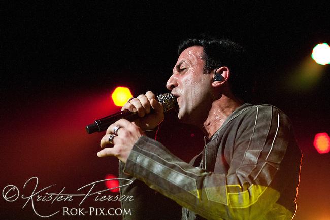 Eve To Adam perform at Mohegan Sun  Arena on April 21, 2012