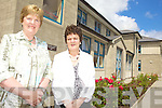 RETIRING: Listowel Convent National School teachers Catherine Horgan and Grace O'Sullivan who are retiring this month having worked there for a total of 69 years between them.