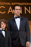 www.acepixs.com<br /> <br /> May 22 2017, Cannes<br /> <br /> Sunny Suljic (L) and Colin Farrell arriving at the premiere of 'The Killing Of A Sacred Deer' during the 70th annual Cannes Film Festival at Palais des Festivals on May 22, 2017 in Cannes, France.<br /> <br /> By Line: Famous/ACE Pictures<br /> <br /> <br /> ACE Pictures Inc<br /> Tel: 6467670430<br /> Email: info@acepixs.com<br /> www.acepixs.com