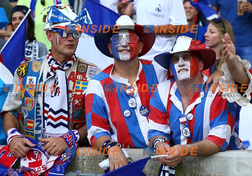 France supporters. tifosi<br /> Marseille 07-07-2016 Stade Velodrome Football Euro2016 Germany - France / Germania - Francia Semi-finals / Semifinali <br /> Foto Matteo Ciambelli / Insidefoto