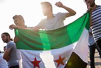 2015/08/21 Berlin | Demonstration | Syrer gegen Assad
