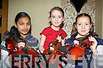 Sharishma Aziz, Alison Butler and Karolina Bertestaite on the fiddle at the Killarney School of Music annual concert in the Malton Hotel on Saturday night....