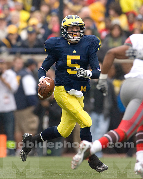 University of Michigan football vs. Ohio State at Michigan Stadium on 11/21/09.