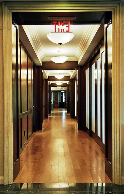 Office Hallway, New York City