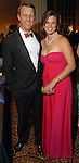 "Jim and Nicole Perdue at the Children's Museum ""Road to Rio"" Gala at The Corinthian Friday Oct. 19,2007.  (Dave Rossman/For the Chronicle)"