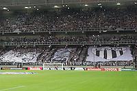 BELO HORIZONTE, MG, 01.05.2014 – COPA LIBERTADORES DA AMÉRICA 2014 – ATLÉTICO-MG X NACIONAL torcida  do Atletico-MG durante jogo contra Nacional valido pela oitavas de finais Copa Libertadores da América 2014, no estádio Arena Independência, na noite desta quinta (01) (Foto: MARCOS FIALHO / BRAZIL PHOTO PRESS)