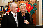 Lois Lee and Hugh Hefner at a ceremony where Hugh Hefner receives first founder's 'Hero of the Hearts' award from Children of the Night on November 18, 2010 in Van Nuys, Los Angeles, California.