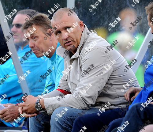 2011-05-19 / Voetbal / seizoen 2010-2011 / KV Turnhout - Sint-Niklaas / Eric Van Meir..Foto: Mpics