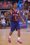 League ACB-ENDESA 2017/2018. Game: 1.<br /> FC Barcelona Lassa vs Baskonia: 87-82.<br /> Phill Pressey.