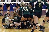 Pontiac Notre Dame Prep vs Wayland Union, Varsity Volleyball, 11/22/13