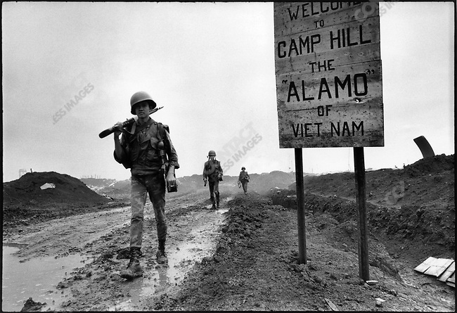 The Vietnam War, Gio Linh base, South Vietnam, November 1967