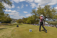 Charles Howell III (USA) watches his tee shot on 12 during day 2 of the World Golf Championships, Dell Match Play, Austin Country Club, Austin, Texas. 3/22/2018.<br /> Picture: Golffile | Ken Murray<br /> <br /> <br /> All photo usage must carry mandatory copyright credit (&copy; Golffile | Ken Murray)