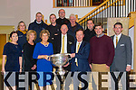 Maria Brosnan, Phil Breen, Phil Skeehan, Paul Langston, Denis Devane, Eamon Fitzmaurice, John Vahey, Joe Martin, John Curtin, Aidan Scanlon, Elaine Mitchell, Mike Courtney, Tom Dennehy at the Launch of the New VW Passat Variant at Devanes of Castleisland on Friday
