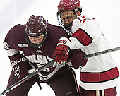 Evan Peterson (Colgate - 26), Kyle Criscuolo (Harvard - 11) -  - The Harvard University Crimson defeated the visiting Colgate University Raiders 7-4 (EN) on Saturday, February 20, 2016, at Bright-Landry Hockey Center in Boston, Massachusetts.