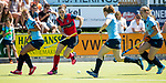 NIJMEGEN -    tijdens  de tweede play-off wedstrijd dames, Nijmegen-Huizen (1-4), voor promotie naar de hoofdklasse.. Huizen promoveert naar de hoofdklasse.  COPYRIGHT KOEN SUYK