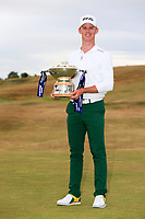 Brandon Stone (RSA) winner  of the Aberdeen Standard Investments Scottish Open on 20 under par, Gullane Golf Club, Gullane, East Lothian, Scotland. 15/07/2018.<br /> Picture Fran Caffrey / Golffile.ie<br /> <br /> All photo usage must carry mandatory copyright credit (&copy; Golffile | Fran Caffrey)