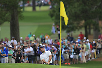 Francesco Molinari (ITA) on the 7th green during the final round at the The Masters , Augusta National, Augusta, Georgia, USA. 14/04/2019.<br /> Picture Fran Caffrey / Golffile.ie<br /> <br /> All photo usage must carry mandatory copyright credit (© Golffile | Fran Caffrey)