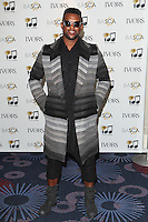 Oritse Williams arriving for the 59th Ivor Novello Awards, at the Grosvenor House Hotel, London. 22/05/2014 Picture by: Alexandra Glen / Featureflash