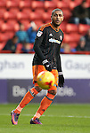 Sheffield United's Leon Clarke in action during the League One match at the Valley Stadium, London. Picture date: November 26th, 2016. Pic David Klein/Sportimage
