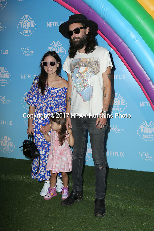 LOS ANGELES - AUG 10:  Ally Hilfiger, Steve Hash at the True and the Rainbow Kingdom Series LA Premiere at the Pacific Theater At The Grove on August 10, 2017 in Los Angeles, CA