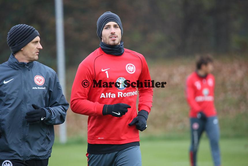 Kevin Trapp (Eintracht) - Eintracht Frankfurt Training, Commerzbank Arena