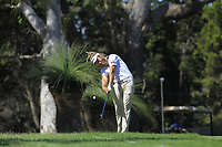 Jack Wilson (AUS) on the 18th fairway during Round 1 of the ISPS Handa World Super 6 Perth at Lake Karrinyup Country Club on the Thursday 8th February 2018.<br /> Picture:  Thos Caffrey / www.golffile.ie<br /> <br /> All photo usage must carry mandatory copyright credit (&copy; Golffile | Thos Caffrey)