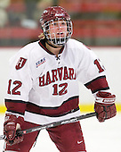 Ashley Wheeler (Harvard - 12) - The Harvard University Crimson defeated the Northeastern University Huskies 1-0 to win the 2010 Beanpot on Tuesday, February 9, 2010, at the Bright Hockey Center in Cambridge, Massachusetts.