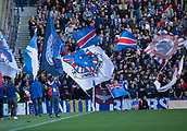 9th September 2017, Ibrox Park, Glasgow, Scotland; Scottish Premier League football, Rangers versus Dundee; Rangers fans