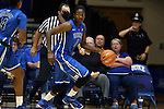 26 October 2014: Elizabeth Williams. The Duke University Blue Devils held their annual Blue-White Game at Cameron Indoor Stadium in Durham, North Carolina in preparation of the upcoming 2014-15 NCAA Division I Women's Basketball season.