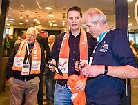 Den Bosch, The Netherlands, Februari 10, 2019,  Maaspoort , FedCup  Netherlands - Canada, hospitality<br /> Photo: Tennisimages/Henk Koster