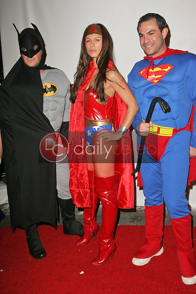 Rhona Mitra and friends<br />