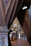 Interior, San Xavier Mission, Tuscon, Arizona