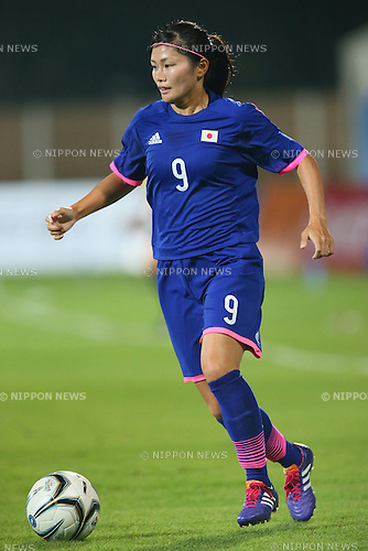 Nahomi Kawasumi (JPN), <br /> SEPTEMBER 15, 2014 - Football / Soccer : <br /> Women's Group Stage <br /> between Japan Women's 0-0 China Women's <br /> at Namdong Asiad Rugby Field <br /> during the 2014 Incheon Asian Games in Incheon, South Korea. <br /> (Photo by YUTAKA/AFLO SPORT)
