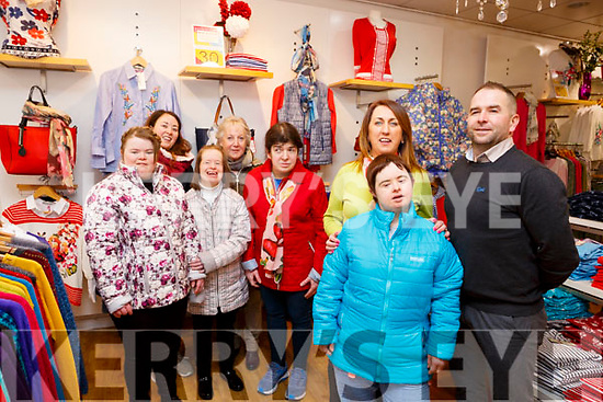 At the launch of the Fashion Show for Inspired Charity in the Paco Shop, The Mall on Friday morning last. Front l to r: Eileen Whelan (Paco Shop), Breda O&rsquo;Sullivan and Warren McDonald (Manager of Inspired Charity).<br /> Back l to r: Louise and Katrina O&rsquo;Connor, Denise and Mary Mahoney and Niamh O&rsquo;Connor.
