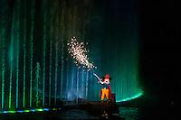 Fantasmic! fireworks and water show, Disney's Hollywood Studios, Walt Disney World, Orlando, Florida USA