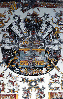 "World Civilization:  Aztec--Scene from Codex Borgia, ""finest of all Mexican manuscripts"".  Brian M. Fagan , KINGDOMS OF GOLD."