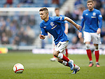 Danny Stoney makes his competitive debut for Rangers