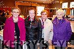 Catherine Nealon, Mary Cantillon, Joan Murphy and Jenny Harty, enjoying the Causeway Senior Citizens  Christmas party at Ballyroe Heights Hotel, Tralee on Sunday last.