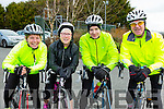 Jane Joyce, Maria Conway, Donal O'driscoll and Liam Gowan Crotta at  the Two Lakes Cycle in Killorglin on Saturday