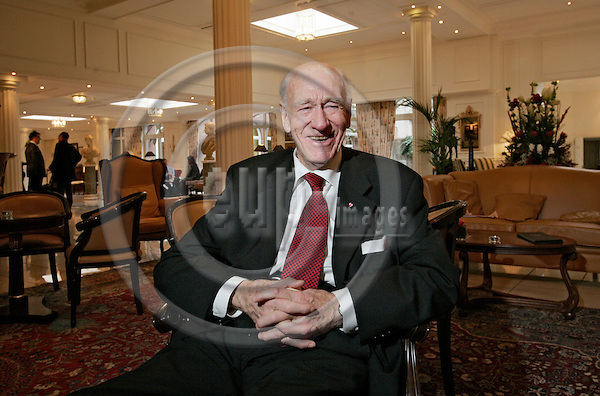 BRUSSELS - BELGIUM - 02 FEBRUARY 2007 -- Olav THON rebranded his six hotels in Brussels to Thon Hotel brandname. Here he is during the interview in the Stanhope Hotel. -- PHOTO: JUHA ROININEN / EUP-IMAGES